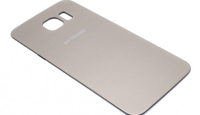 Backcover Akkudeckel für Samsung Galaxy S6 EDGE wechseln