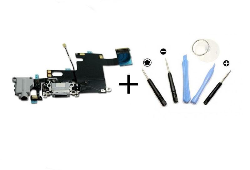 iphone 6 ladebuchse lightning anschluss dock connector. Black Bedroom Furniture Sets. Home Design Ideas