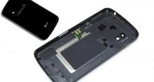 Back cover wechsel für Nexus 4 E960 Reparaturanleitung